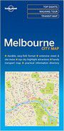 Lonely Planet Melbournecity Map