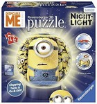 Ravensburger Puzzle 3D Despicable Me Minion Made Night-Light (72Pcs)