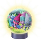 Ravensburger Puzzle Ball 3D Trolls Night-Light (72Pcs)
